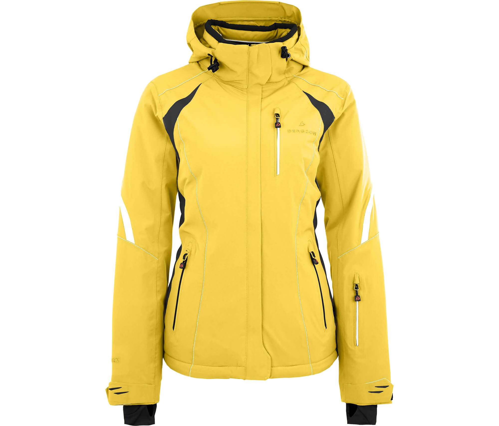 Damen Skijacke Snowtastic Bergson Lemon Gelb qSzVMpU